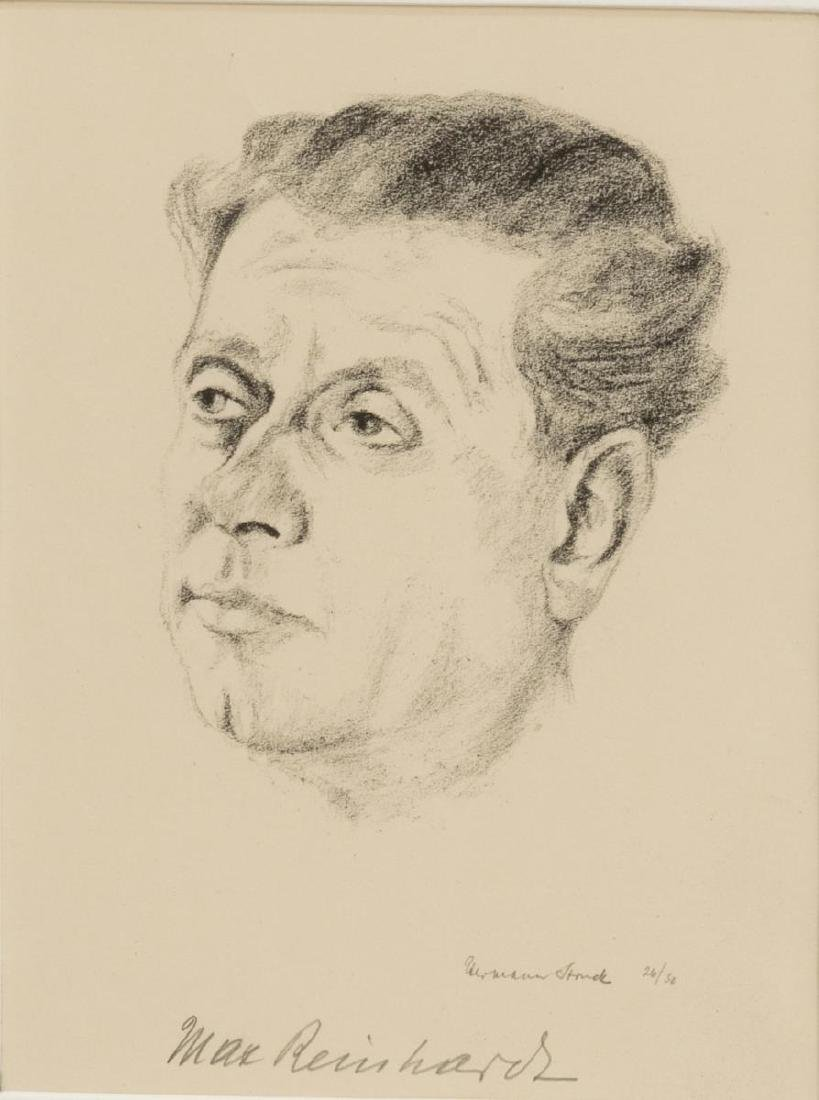 (2) HERMANN STRUCK (D.1944) PORTRAIT, REINHARDT - 2