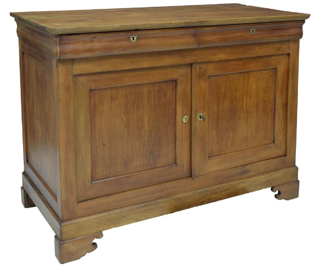 LOUIS PHILIPPE PERIOD FRUITWOOD BUFFET