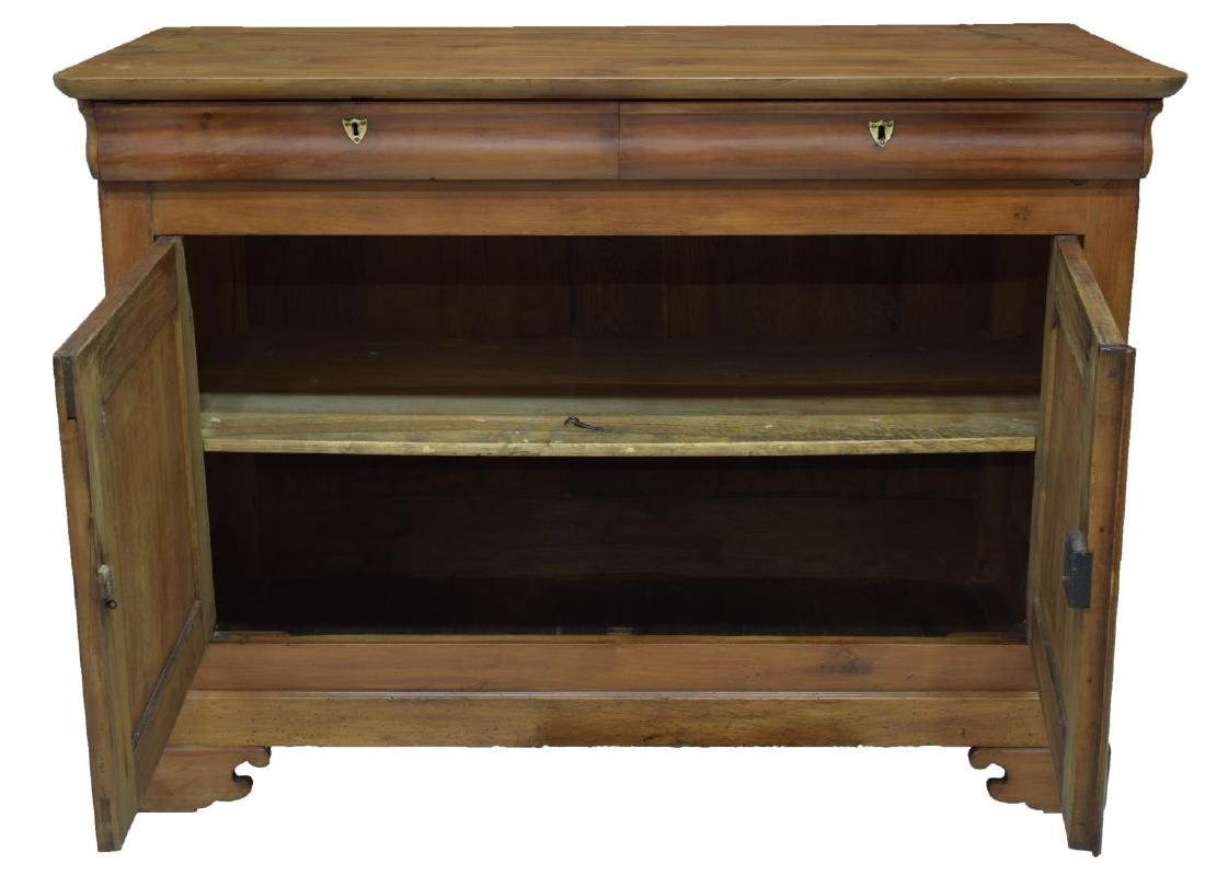 LOUIS PHILIPPE PERIOD FRUITWOOD BUFFET - 2