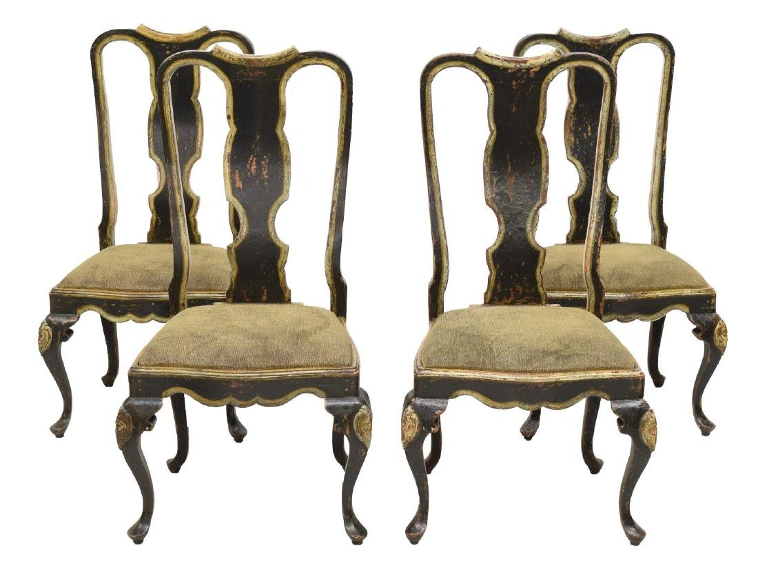 (6) QUEEN ANNE STYLE DINING CHAIRS, BRAZIL - 2