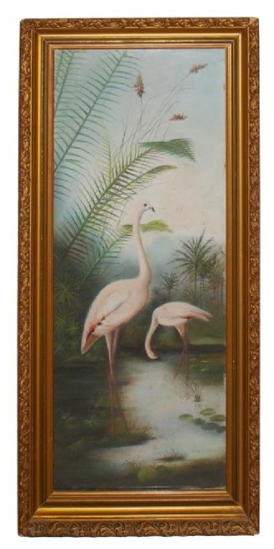 (PAIR) FRAMED NATURALIST PASTEL DRAWINGS OF BIRDS - 3