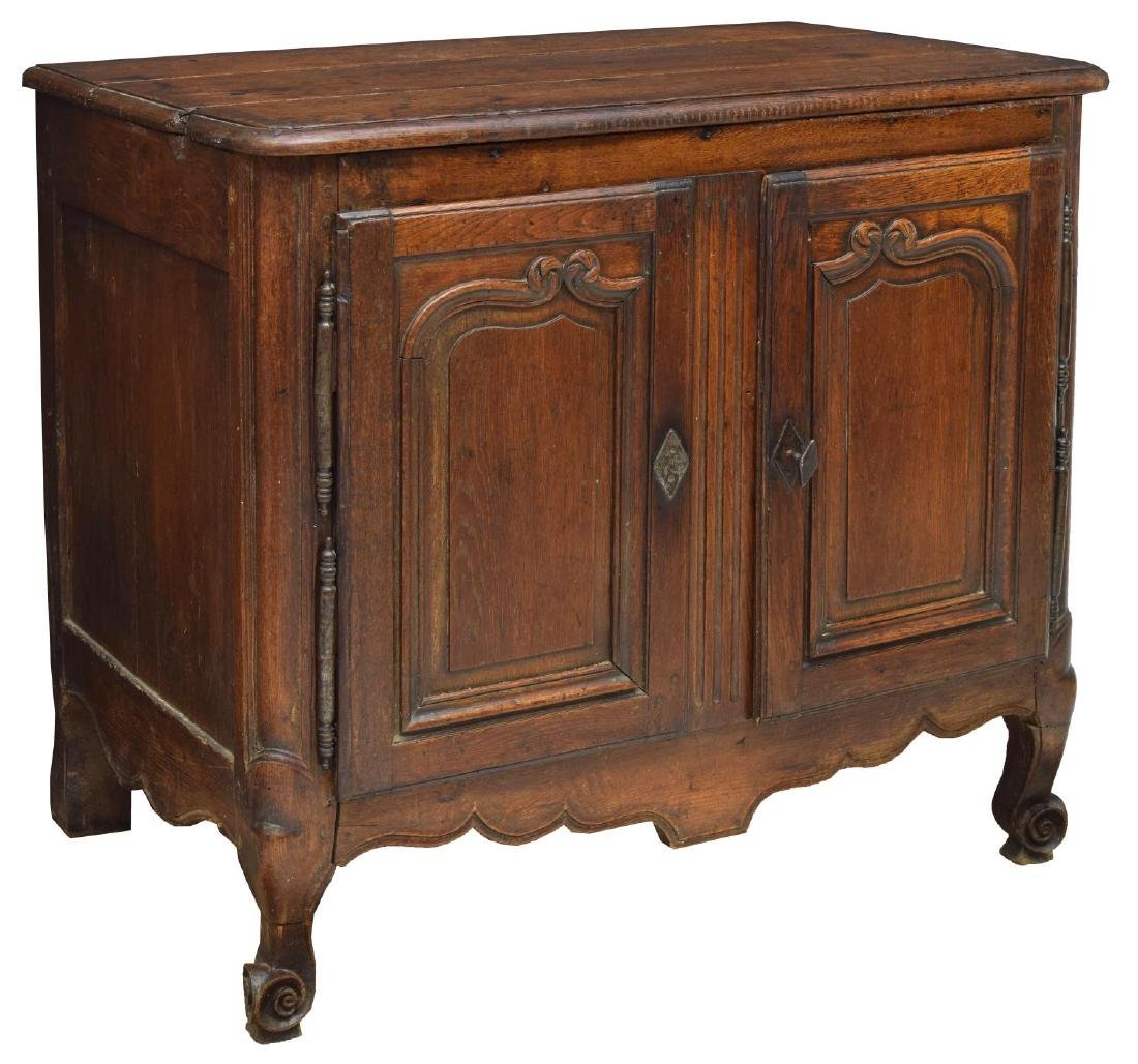 FRENCH LOUIS XV STYLE OAK ASSEMBLED CABINET