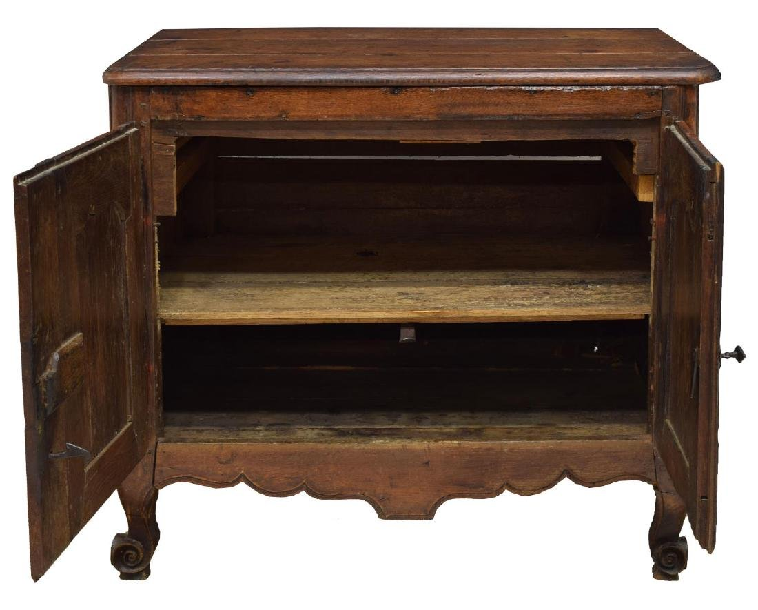 FRENCH LOUIS XV STYLE OAK ASSEMBLED CABINET - 2