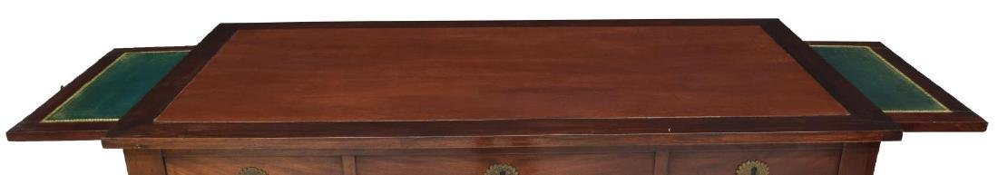 FRENCH EMPIRE STYLE MAHOGANY WRITING DESK - 3