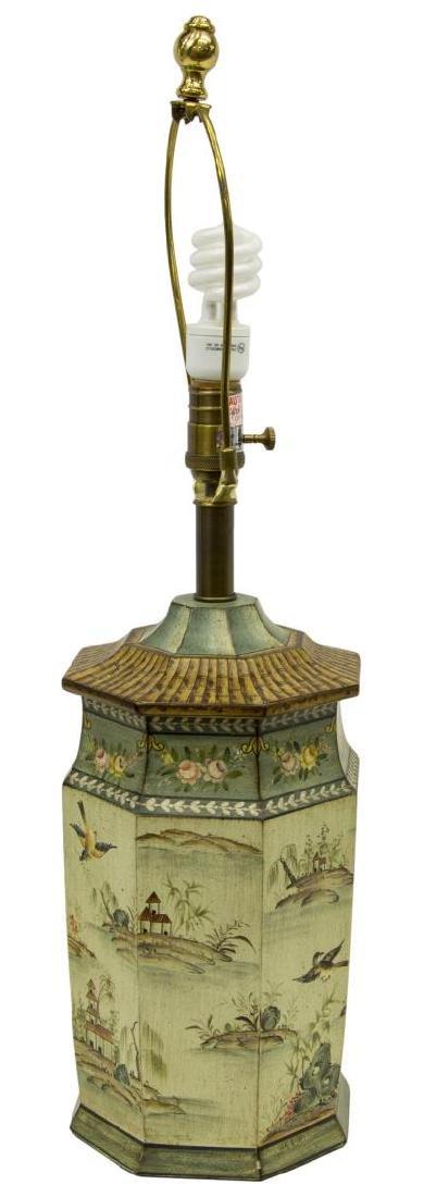SARREID LTD. CHINOISERIE STYLE TABLE LAMP - 2