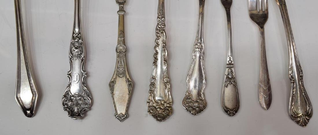 (LOT) GROUP OF SILVERPLATE FLATWARE & TABLEWARE - 5