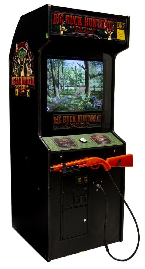BIG BUCK HUNTER II OPERATING VIDEO GAME