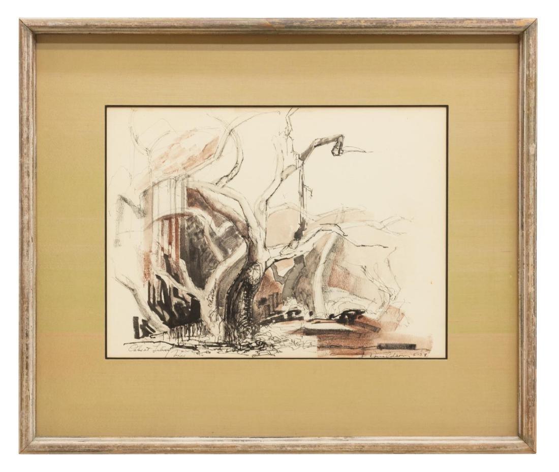 JOSEPH DONALDSON (1914-1997) LULING, TEXAS SCENE - 2