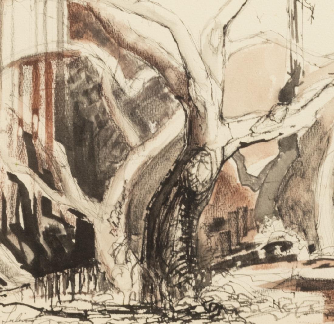 JOSEPH DONALDSON (1914-1997) LULING, TEXAS SCENE - 3