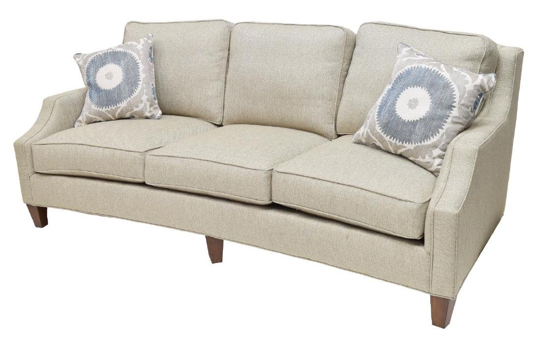 NEW SAM MOORE 'AUSTIN' THREE-SEATER SOFA