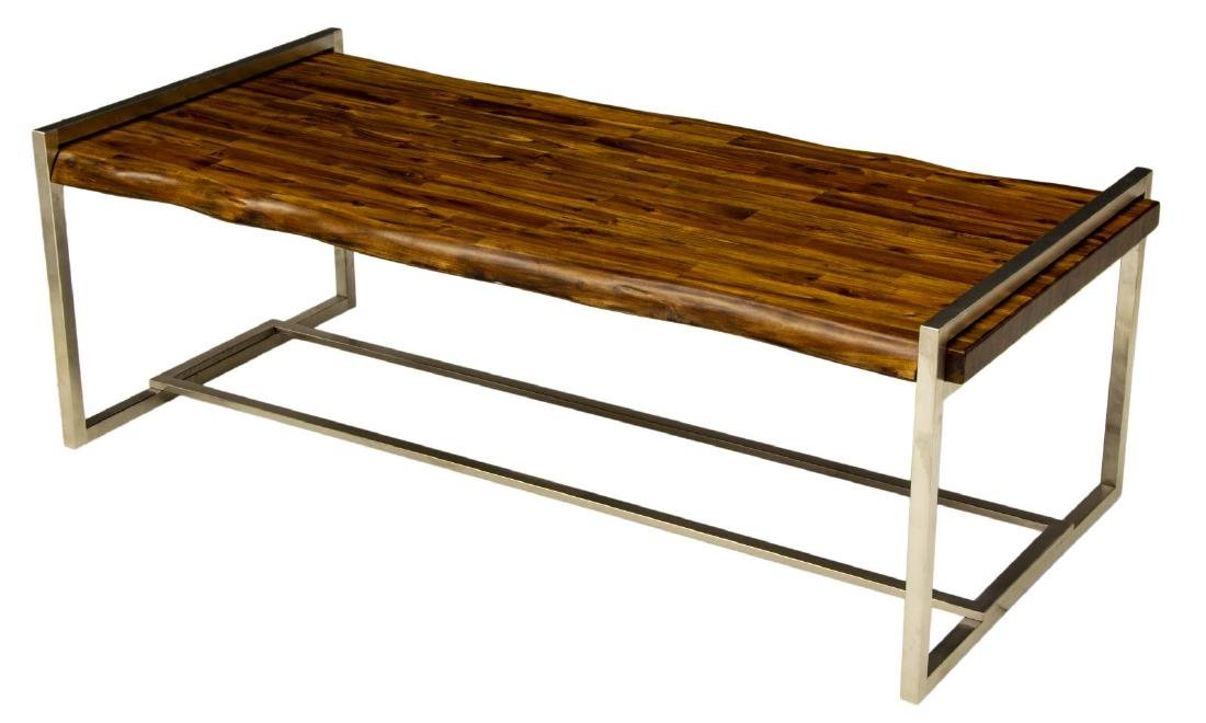 NEW HOOKER FURNITURE 'LIVE EDGE' COCKTAIL TABLE