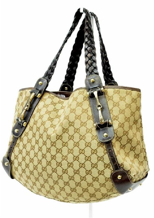 a818caac8 GUCCI 'PELHAM' GG CANVAS SHOULDER BAG. placeholder. See Sold Price