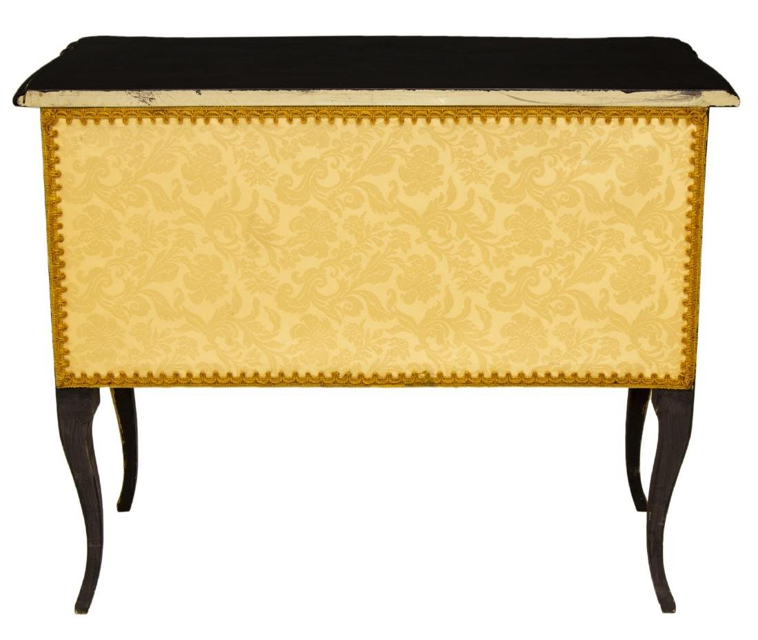 FRENCH LOUIS XV STYLE PAINTED COMMODE - 3