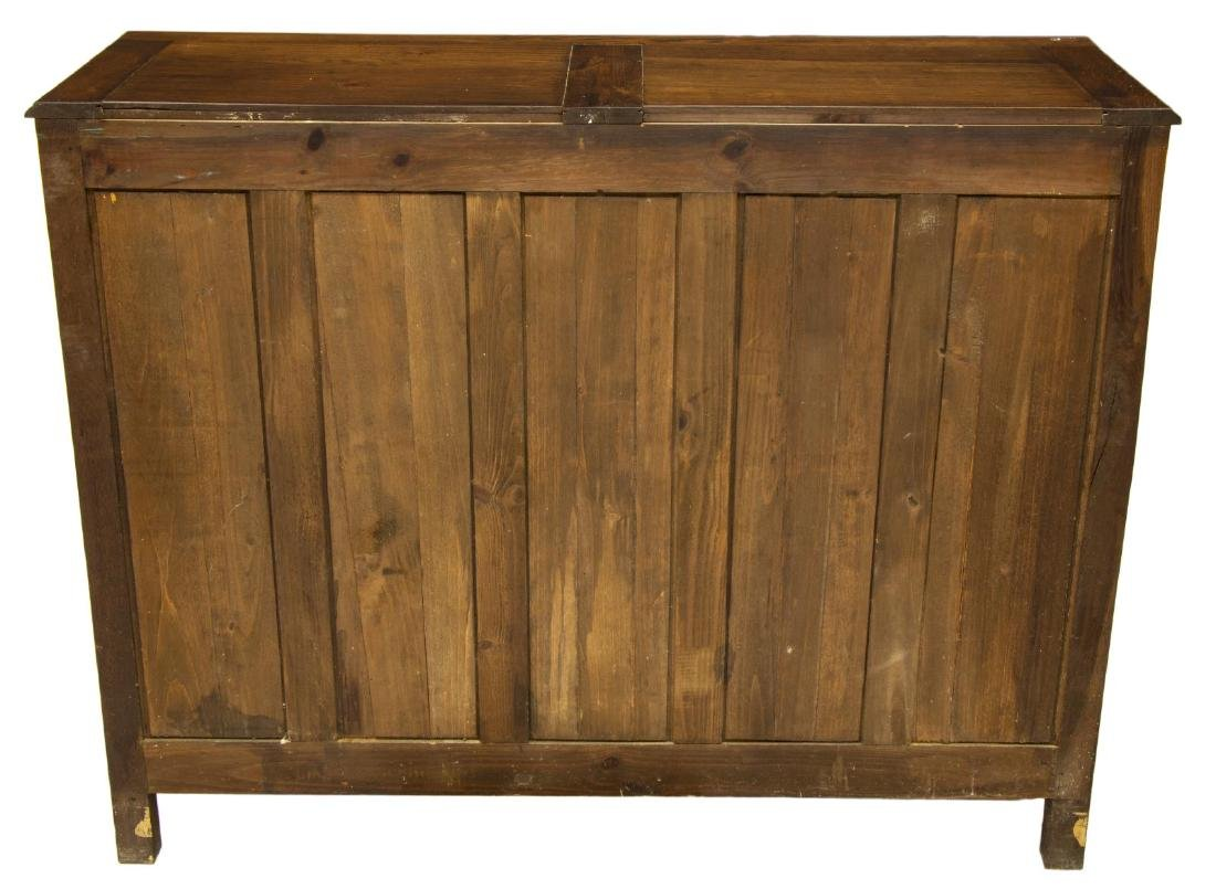 FRENCH MEDIEVAL STYLE CARVED OAK BUFFET - 4