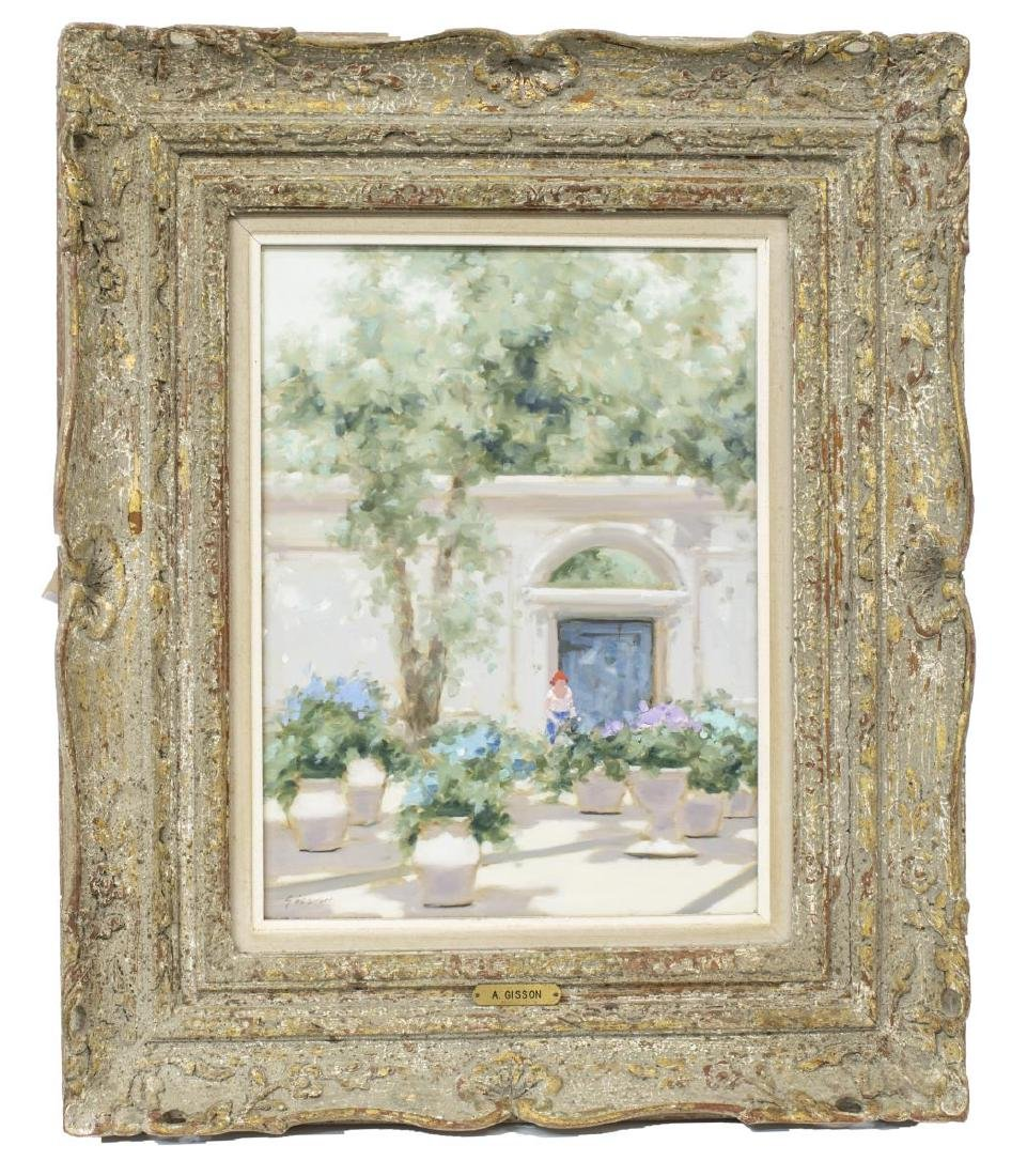 ANDRE GISSON (1921-2003) FRAMED OIL PAINTING - 2