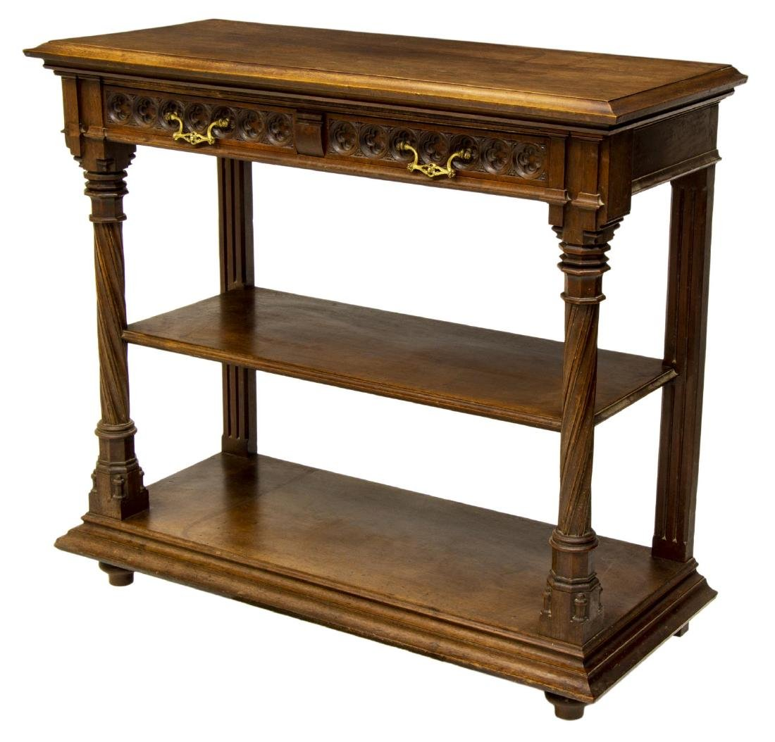 CONTINENTAL GOTHIC REVIVAL CONVERTABLE SERVER