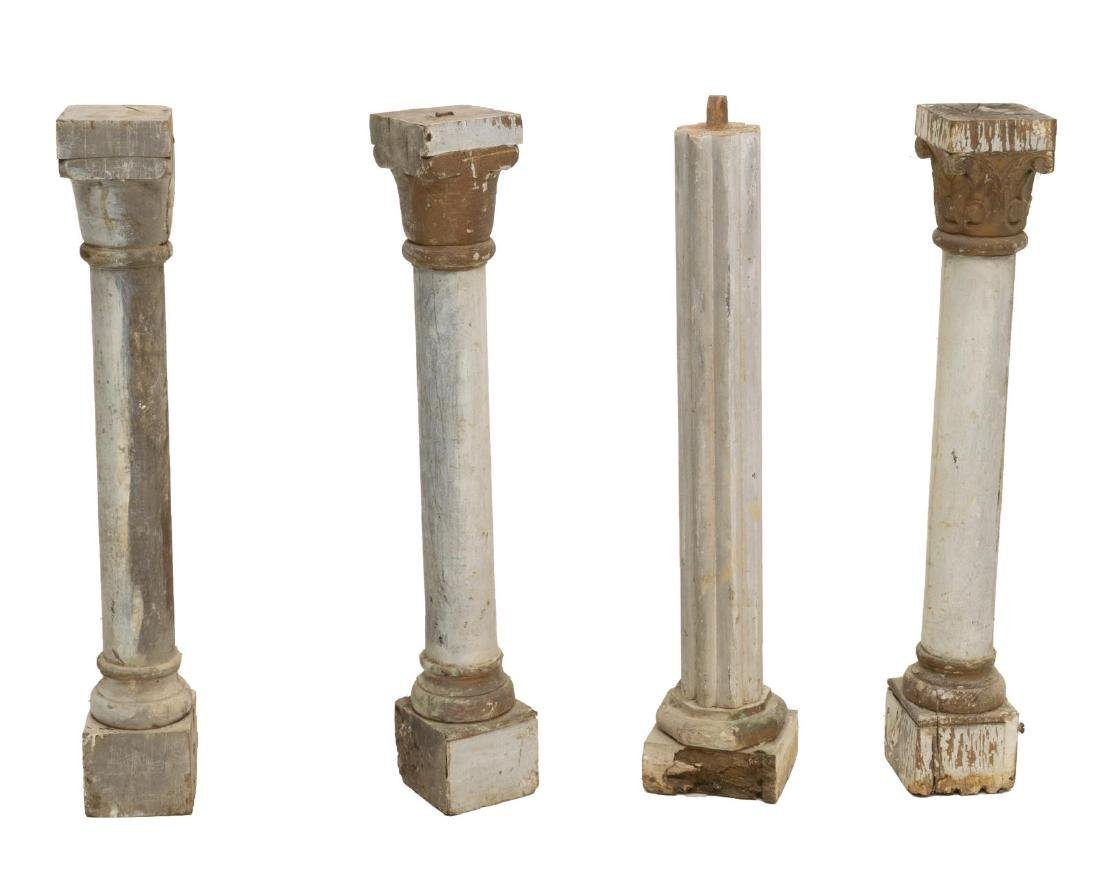 (4) CONTINENTAL COLUMN ARCHITECTURAL ELEMENTS