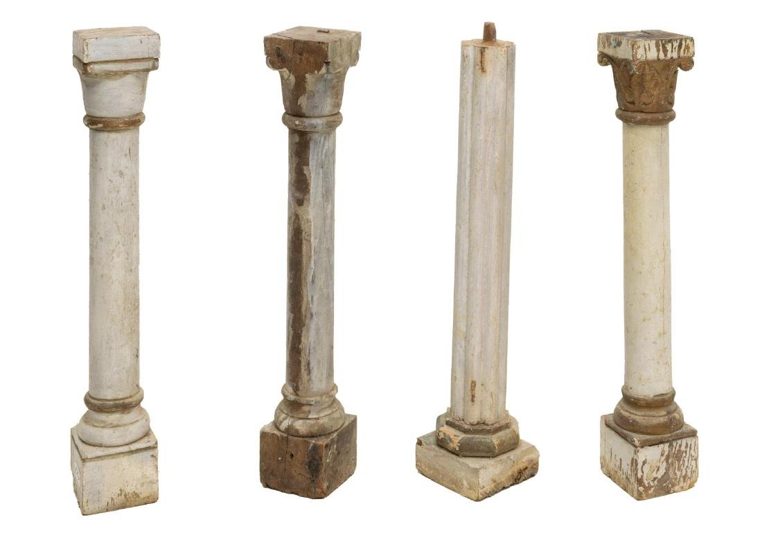 (4) CONTINENTAL COLUMN ARCHITECTURAL ELEMENTS - 2