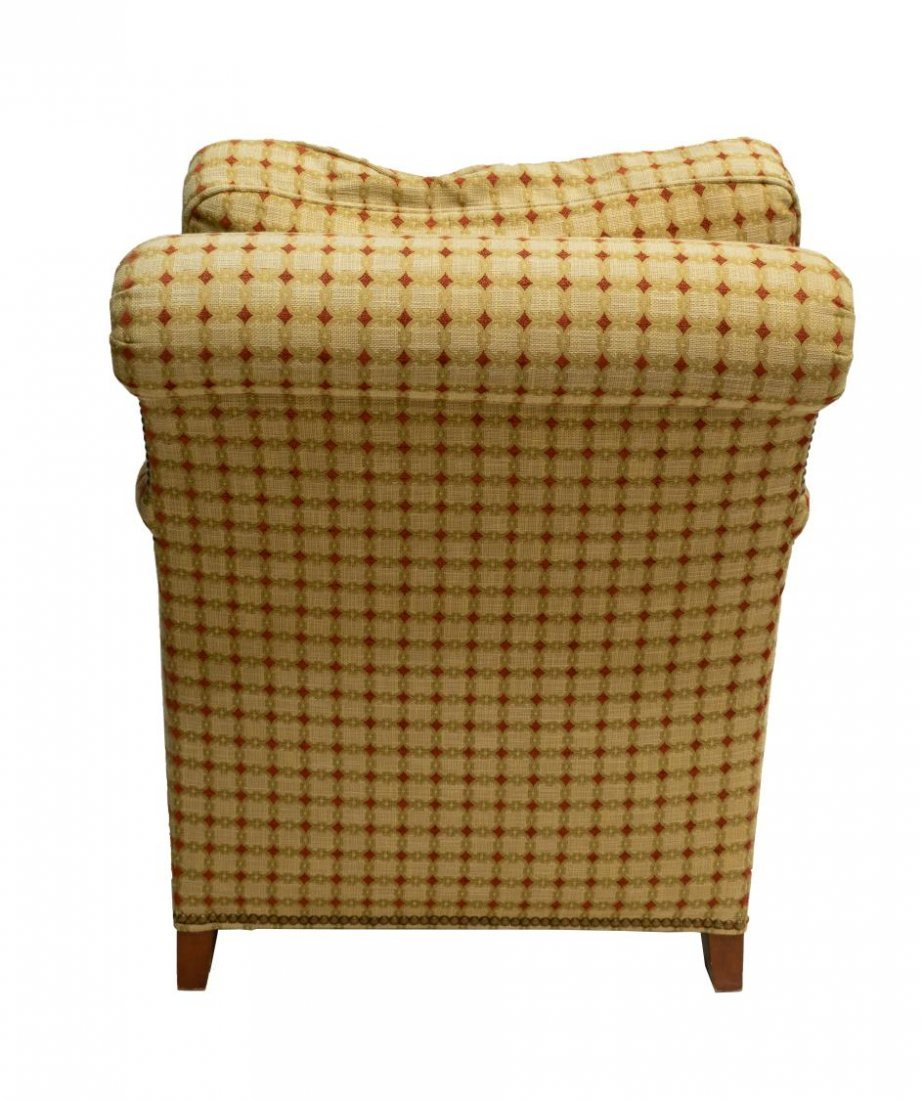HICKORY CHAIR UPHOLSTERED LOUNGE CLUB ARMCHAIR - 3