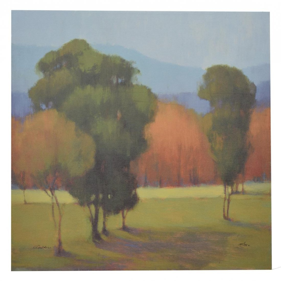 KIM COULTER SIGNED GICLEE PRINT ON CANVAS