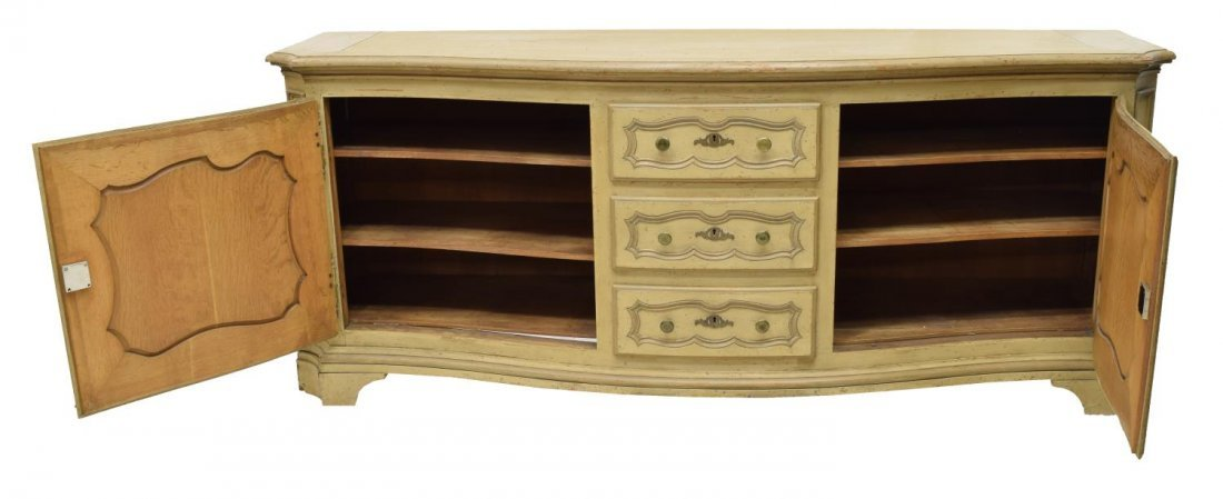 FRENCH STYLE PAINTED OAK SIDEBOARD - 2