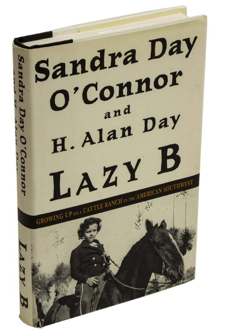 AUTOGRAPHED BOOK, SANDRA DAY O'CONNOR