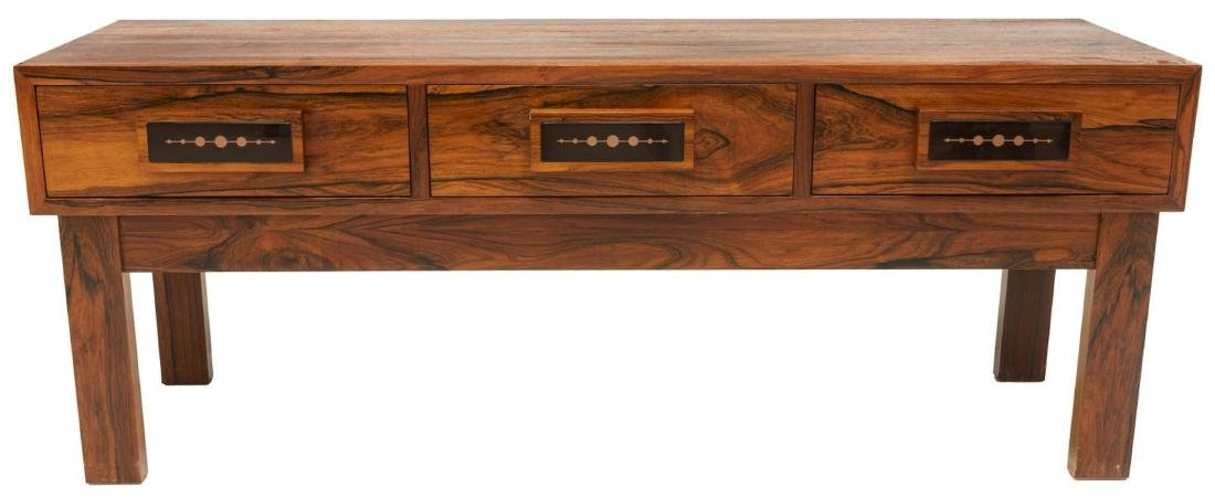 DANISH MID-CENTURY MODERN ROSEWOOD LOW TABLE