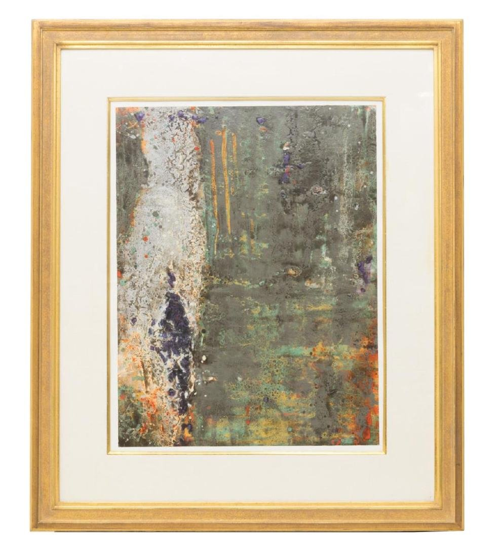FRAMED ABSTRACT PAINTING, STEPHEN ALEXANDER