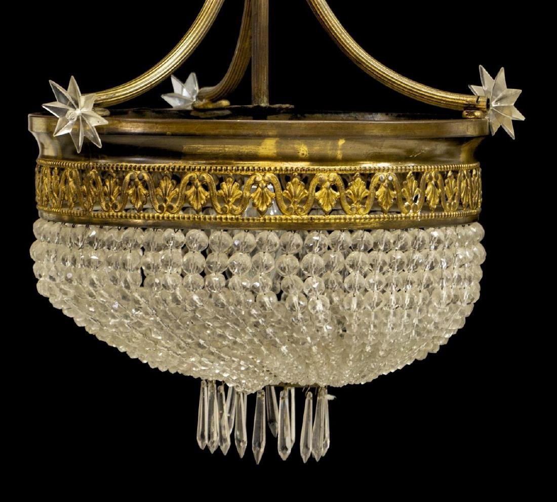 FRENCH EMPIRE STYLE CEILING LIGHT CHANDELIER