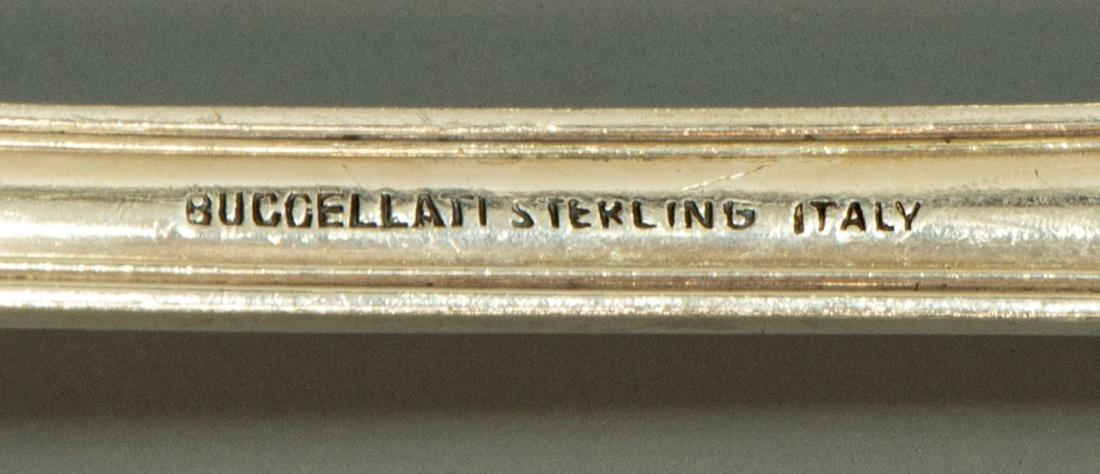 (65) BUCCELLATI 'EMPIRE' STERLING FLATWARE SERVICE - 4