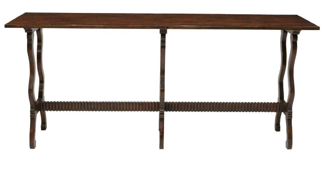 """WALNUT SOFA TABLE, 78""""L"""