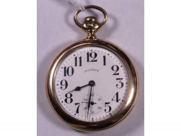 3: ILLINOIS SWING OUT MOVEMENT POCKET WATCH SIZE 16