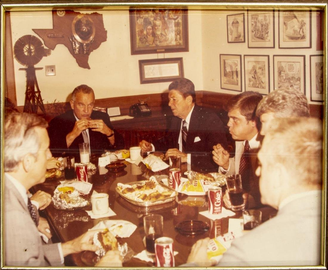 (6) POLITICAL PHOTOS, PRESIDENTS REAGAN & FORD - 3