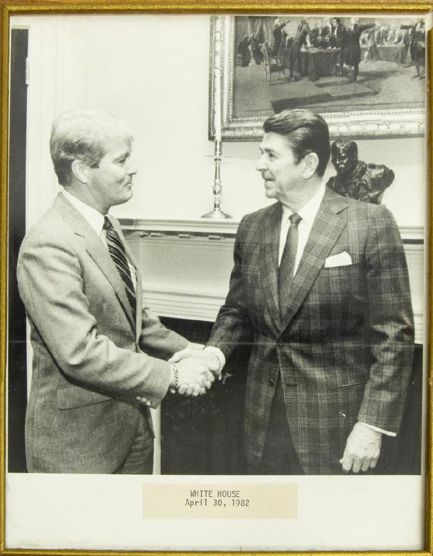 (6) POLITICAL PHOTOS, PRESIDENTS REAGAN & FORD - 4
