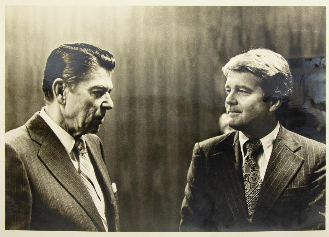 (6) POLITICAL PHOTOS, PRESIDENTS REAGAN & FORD - 6