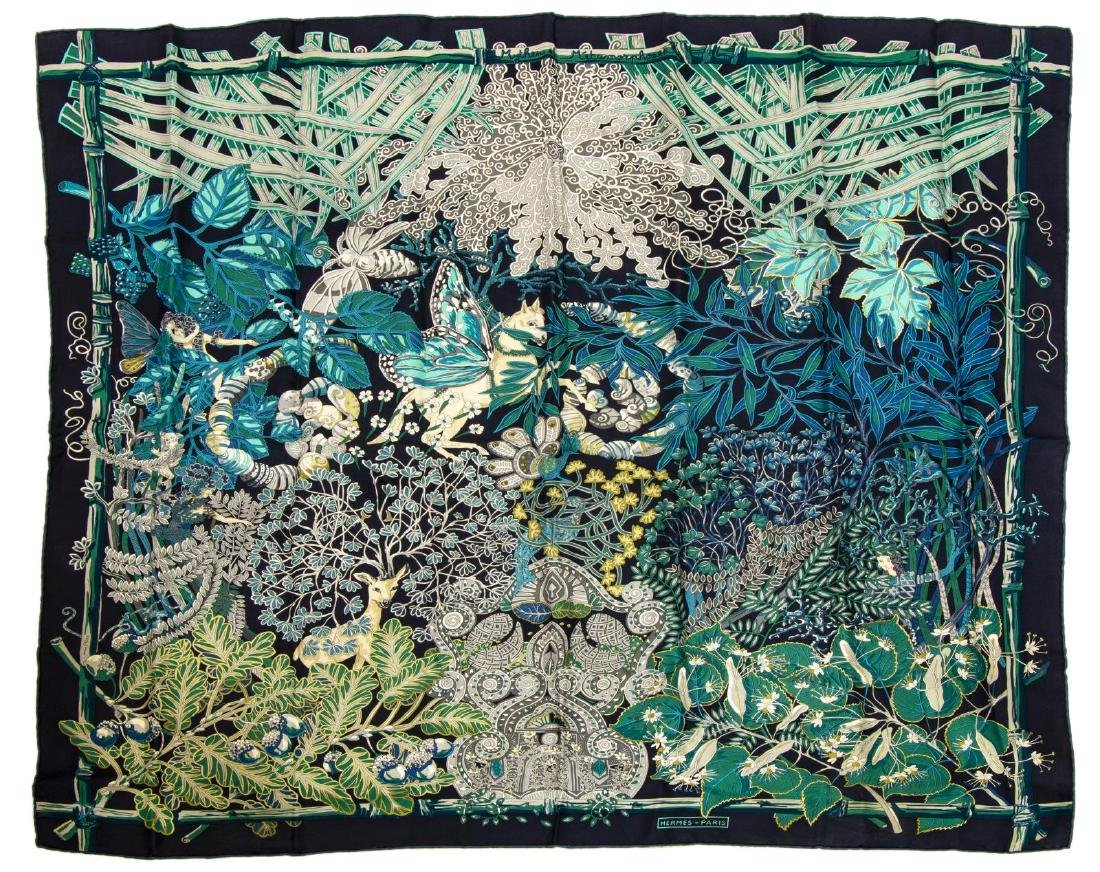HERMES SILK SCARF 'MYTHES ET METAMORPHOSES'