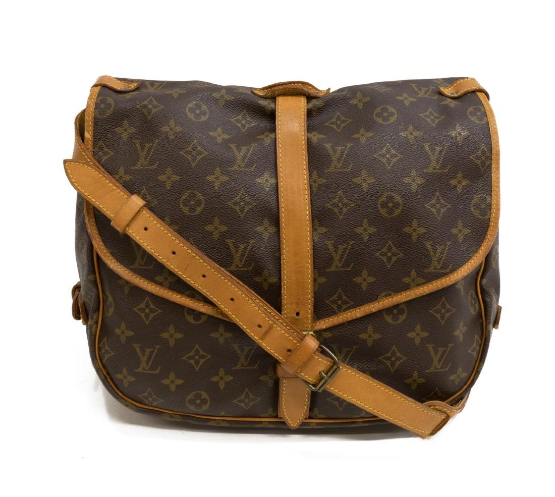 LOUIS VUITTON 'SAUMUR' MONOGRAM CROSSBODY BAG
