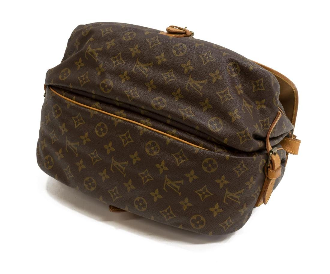 LOUIS VUITTON 'SAUMUR' MONOGRAM CROSSBODY BAG - 3