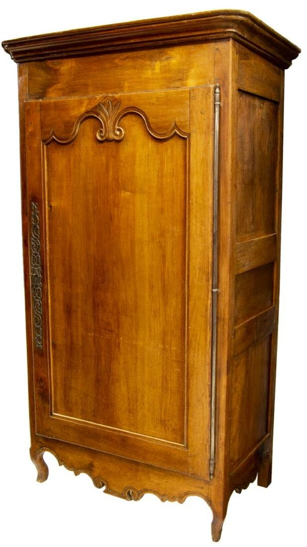 FRENCH LOUIS XV STYLE WALNUT 18th C. ARMOIRE