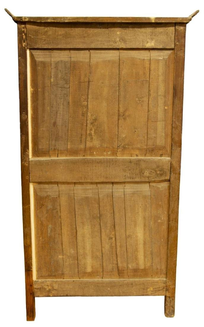 FRENCH LOUIS XV STYLE WALNUT 18th C. ARMOIRE - 3