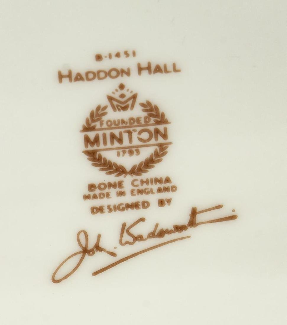 (47) MINTON 'HADDON HALL' BONE CHINA SERVICE - 3