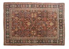 ANTIQUE PERSIAN SAROUKH MAHAL RUG 102 X 7