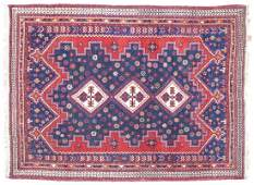 PERSIAN HANDTIED AFSHAR RUG 72 X 52