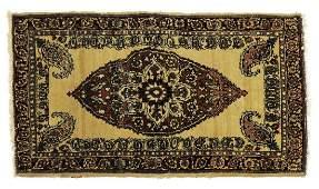 ANTIQUE PERSIAN HANDTIED BOTEH KERMAN 3 X 18
