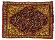 PERSIAN HANDTIED SENEH RUG 3 X 25