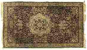 PERSIAN HANDTIED SAROUKH RUG 77 X 45