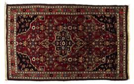 PERSIAN HANDTIED BIDJAR RUG 45 X 27