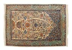 PERSIAN HANDTIED SAROUKH RUG 54 X 37