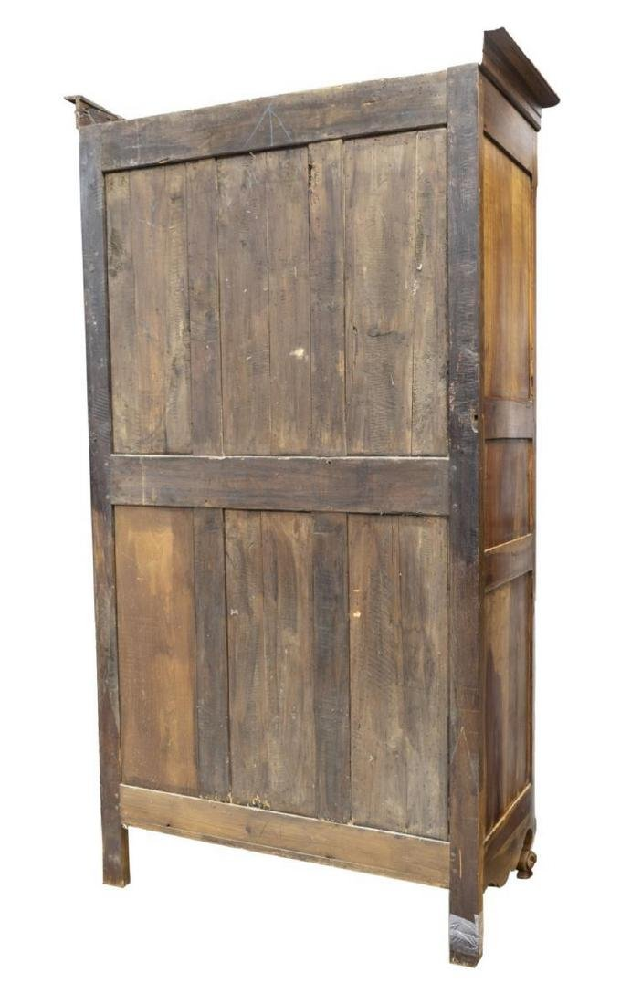 FRENCH LOUIS XV STYLE FRUITWOOD ARMOIRE - 3