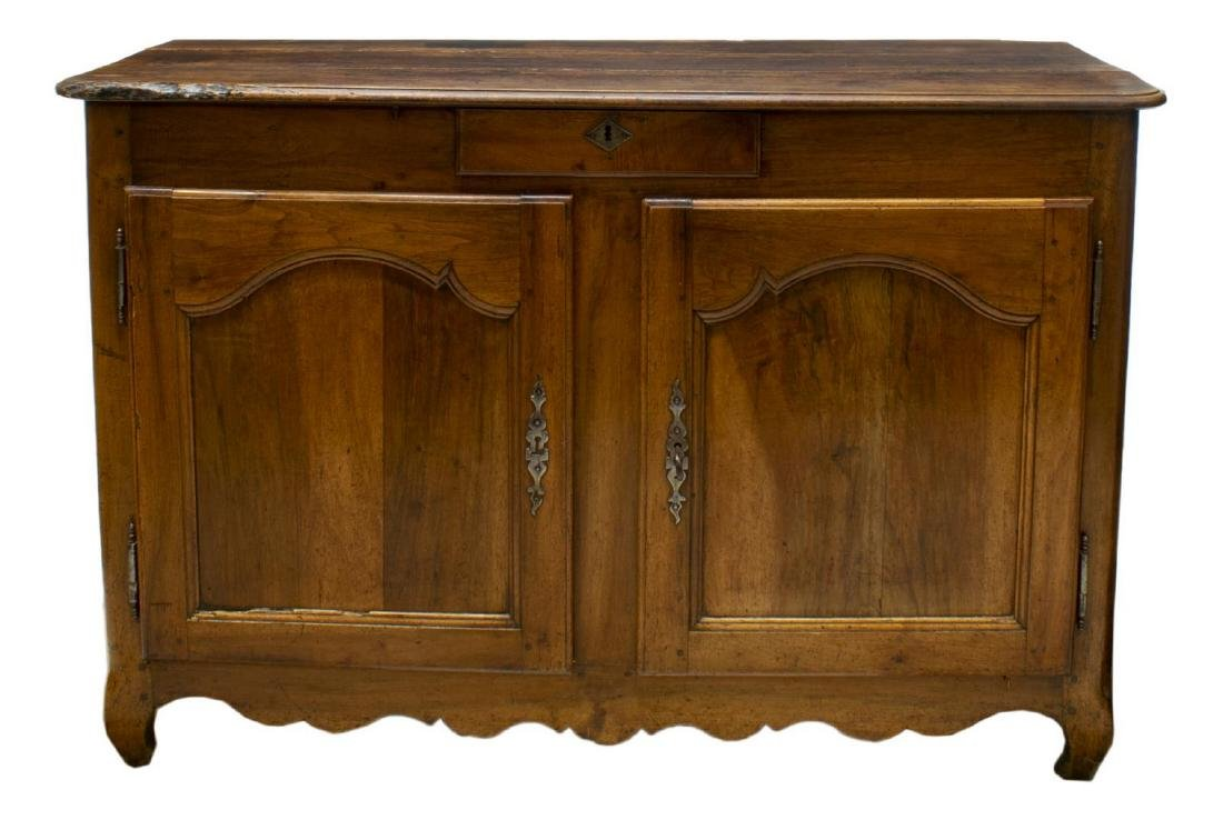 FRENCH LOUIS XV FRUITWOOD SIDEBOARD, LATE 18TH C. - 2